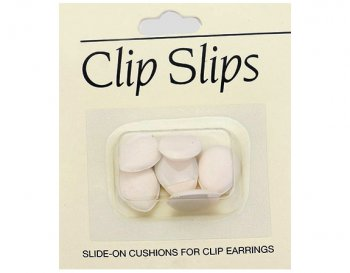 Clip Pads for Paddle Back Clips - Soft Felt