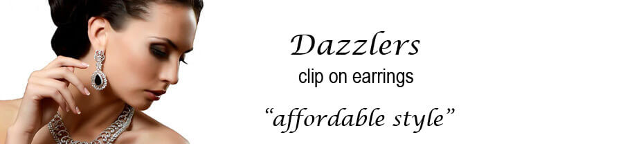 Dazzlers Clip On Earrings